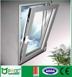 Moderner Entwurfs-Puder-Beschichtung-Aluminium-Außenneigung u. Drehung Windows