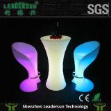 Mobilia esterna chiara di illuminazione della presidenza della barra di hotel delle feci LED