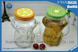 450ml Creativo Transparente sin plomo, Copa en forma de racimo, taza de jugo, taza de té, taza de leche, cerveza de vidrio con una manija