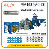 Het Maken van de Baksteen van het cement Machine, het Concrete Holle Blok die van de Betonmolen Machine in de Machines van de Bouw maken