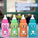 漫画のミルクびん様式携帯用力バンクの昇進のギフトの電話充電器