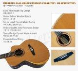 Um-Ecos todos de Yulong Guo guitarra acústica superior dobro contínua (SG03DCZ)