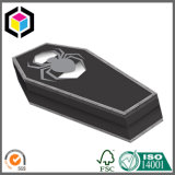 Custom Color Forma ataúd de cartón de papel caja de regalo