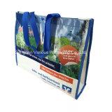 Bolsa feita sob encomenda do saco tecido de PP Saco de compras reutilizável