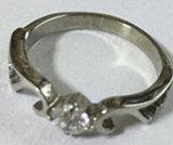 Ring van de Steen van het Glas van de Juwelen van de manier de Enige
