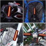 LEIDENE van de Verlichting van de Toebehoren van de Fiets van de Delen van de fiets het Navulbare AchterLicht van de Fiets