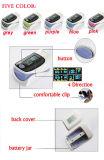 CER genehmigte die fünf Farben-Fingerspitze-Impuls-Oximeter (HK-80A)