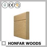 Contorno de um quarto superior da madeira redonda do material de construção