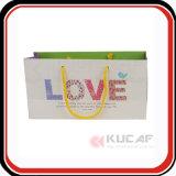 Sacco di carta di disegno del regalo personalizzabile popolare di stampa in offset