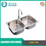 Dispersore di cucina dell'acciaio inossidabile 304 di Undermount di buona qualità Wb2-798