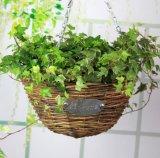 (BC-WF1005) Чисто Handmade естественная корзина цветка вербы