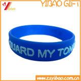 Оптовые изготовленный на заказ Wristbands силикона логоса (YB-AB-010)