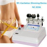 Peau de levage de face serrant la cavitation ultrasonique de rf amincissant la machine