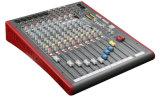 Misturador sadio de venda quente da canaleta profissional audio da série 16 do Zed do misturador
