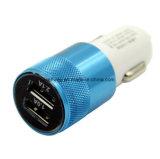 Алюминий 12V-24V высокого качества удваивает Ce RoHS заряжателя автомобиля USB для iPhone