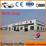 Sezione anteriore del silenziatore dello scarico dalla fabbrica cinese con il migliore prezzo più basso