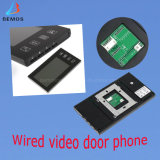 """4-draad 7 """" de Telefoon van de Deur van de Video van de Kleur voor het Gebruik van de Veiligheid"""