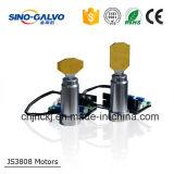 Js3808 30mm de Scanner van de Galvanometer van de Opening voor de Scherpe Apparatuur van de Laser