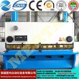 Машина выдвиженческой гидровлической плиты гильотины режа/автомат для резки 16*2500mm листа