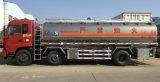 Foton 3 ejes 25 cúbicos de aleación de aluminio camión cisterna de combustible