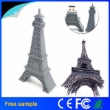 Flash Drive Torre Eiffel de memoria flash USB Paris Tour USB