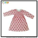 Vestito infantile del manicotto del bambino da formato su ordinazione lungo dei vestiti