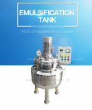 Staninless Steel Cosmetic Cream Vacuum Emulsifying Tank