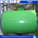 Le bobine favorevoli all'ambiente dell'acciaio di PPGI/hanno preverniciato le bobine d'acciaio galvanizzate/bobine d'acciaio ricoperte colore con il prezzo poco costoso