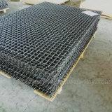 45#網をふるう粉砕機のための鋼鉄によって編まれる鋼鉄金属の波形の網