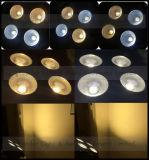 Luz clara dos antolhos do diodo emissor de luz da ESPIGA 4 dos antolhos novos 4*100W 2in1 da audiência do diodo emissor de luz dos olhos