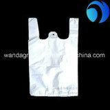 HDPEのプラスチックショッピングTシャツのベストの買物袋