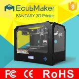 Preiswerter Installationssatz der Maschinen-3D-Printer mit heißer Bett-Einspritzung