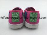 新しい到着の子供のキャンバスの注入の靴、子供の網の甲革(FFHH-092601)が付いている偶然のスポーツの靴