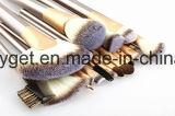 Le mélange synthétique professionnel de base de Kabuki de brosse de lecture de renivellement de 12 PCS rougissent le balai liquide Esg10206 de languette de produits de beauté de crème de poudre de face d'oeil de Concealer
