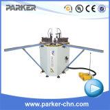 Machine sertissante faisante le coin principale simple de porte de guichet en aluminium de Parker