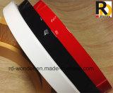 Bande de bord de PVC de qualité supérieure pour armoire de cuisine