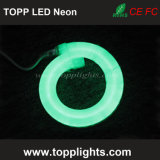 Luces de neón Tipo de elemento y luz de neón LED de color verde emisor