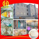 Conception de bâtiments farine de blé fraiseuses 100t acier Sturcture farine de blé fraiseuses 200T Wheat Flour Mills