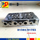 Excavator Kubota Cylinder Head D1503 D1703 Engine Part