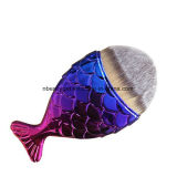 Kosmetisches Verfassungs-Pinsel-Fisch-Schuppen-Verfassungs-Pinsel-Fisch-Unterseiten-Pinsel-Puder erröten Esg10205