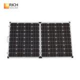 180W plegable la mono célula solar flexible de la eficacia alta del panel solar del silicio