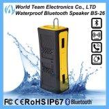 haut-parleur portatif imperméable à l'eau coloré de radio de Bluetooth de mode