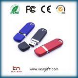 Mémoire en plastique de vente chaude du lecteur flash USB 64gig