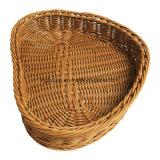 現代様式の藤の柳細工のパンの食糧バスケット