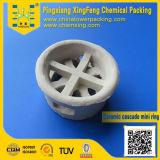 Anello della cascata di ceramica dell'imballaggio di colonna di distillazione mini (CMR)
