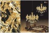 贅沢な金Champagnの水晶シャンデリアライト