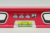 Уровень духа красного цвета профессиональный с V-Grooved дном (700910)