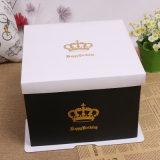 Kundenspezifischer Geburtstag-Kuchen-verpackenkasten für Geschenk