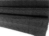 Shell negro de nylon poliéster Jacquard Tejido Spandex de la ropa interior (HD2523426)