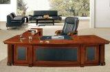 Size Wooden王のオフィス用家具の光沢のある執行部表(HX-RD001)